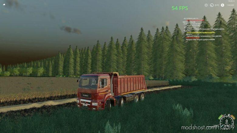 Kamaz 65801 for Farming Simulator 19