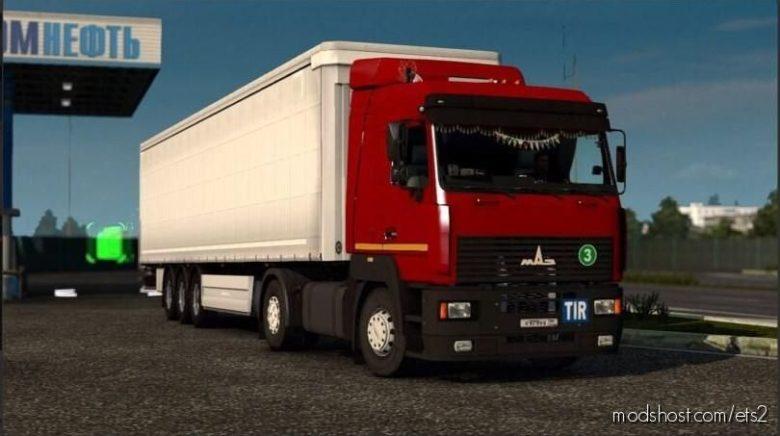 MAZ 5340 / 5440 / 6430 A8 [1.39 – 1.40] for Euro Truck Simulator 2