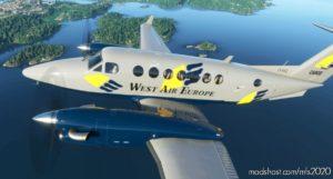 West AIR Europe | Beechcraft King AIR for Microsoft Flight Simulator 2020
