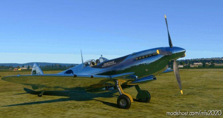 Silver Spitfire Around The World Flightplan for Microsoft Flight Simulator 2020