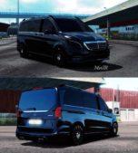 Mercedes-Benz Vito V-Class 2018 V4 [1.40] for Euro Truck Simulator 2