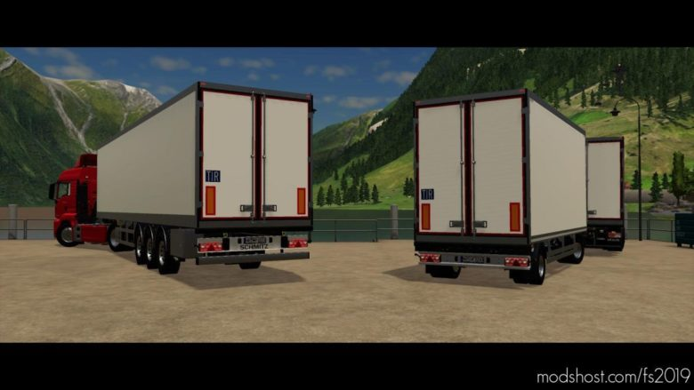 Schmitz Cargobull Trailer Pack for Farming Simulator 19