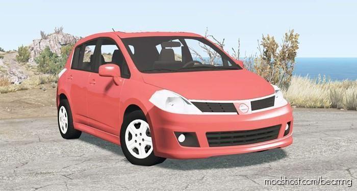 Nissan Versa Hatchback (C11) 2010 for BeamNG.drive