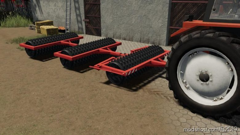 Cambridge Rollers Pack for Farming Simulator 19