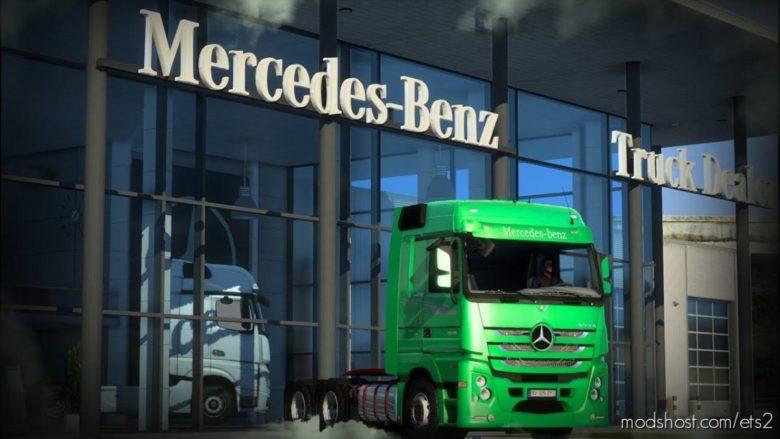 Mercedes Actros 2651 Serie Especial 1111 [1.40.X] for Euro Truck Simulator 2