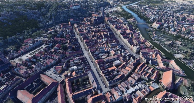 Landshut City V1.1 for Microsoft Flight Simulator 2020