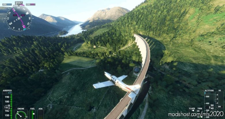 UK Scenery Tour (Scotland / Scottish) Flight Plan (Egpk To Egnt) for Microsoft Flight Simulator 2020