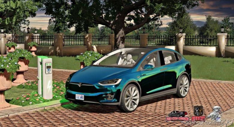 Tesla Model X 2017 for Farming Simulator 19