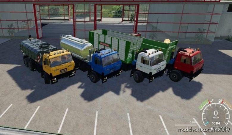 Tatra 815 HKL Tahac for Farming Simulator 19