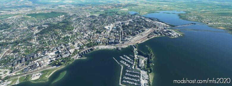 Hamar City Google-Maps Photo Scenery for Microsoft Flight Simulator 2020