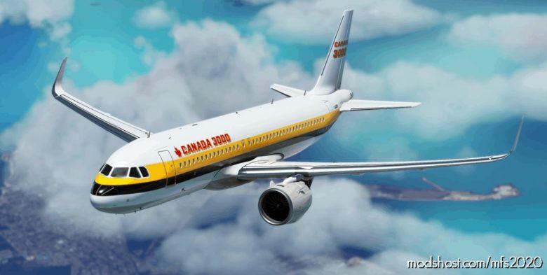 Canada 3000 EX Monarch for Microsoft Flight Simulator 2020