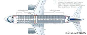 Lufthansa A320 Cabinlayout For SLC for Microsoft Flight Simulator 2020