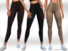 Female Casual Leggings for The Sims 4