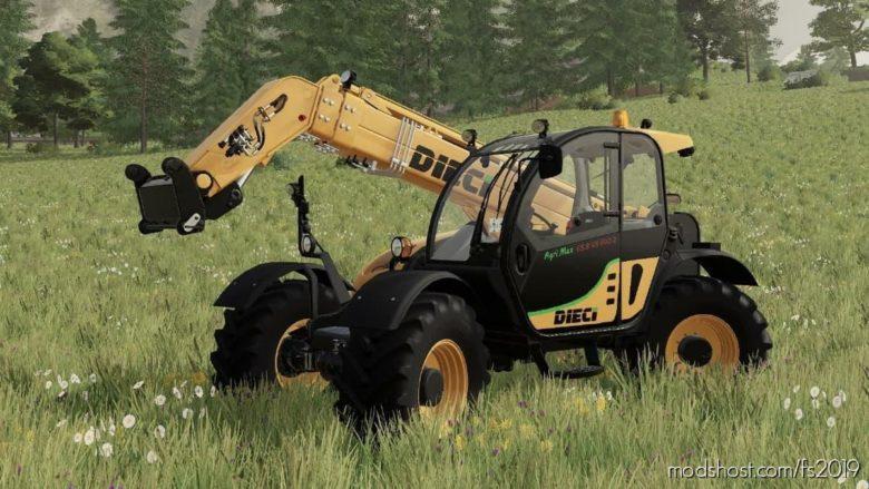 Dieci Agrimax 65.8 for Farming Simulator 19