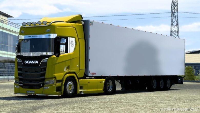 Custom Kogel Trailer V2.0 [1.40] for Euro Truck Simulator 2