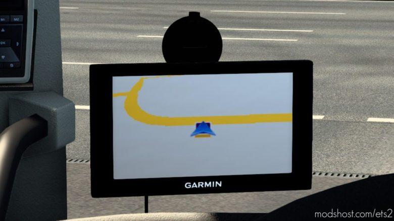 Garmin 50LMT Navigator V1.4.1 for Euro Truck Simulator 2