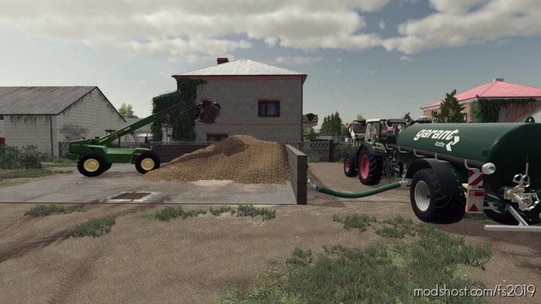 Manure Plates With A Slurry Tank V1.1 for Farming Simulator 19