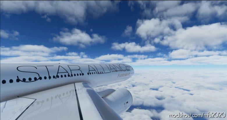 Austrian Airlines Star Alliance A330-300 V1.1 for Microsoft Flight Simulator 2020