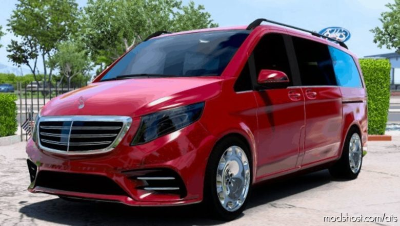Mercedes-Benz Vito V-Class 2018 V4 [1.40] for American Truck Simulator