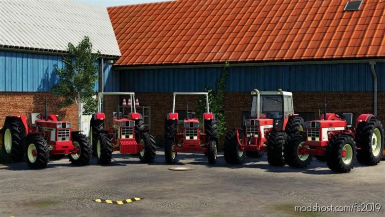 International 46 Series Pack for Farming Simulator 19