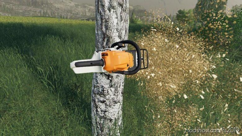 USE Chainsaw Everywhere for Farming Simulator 19