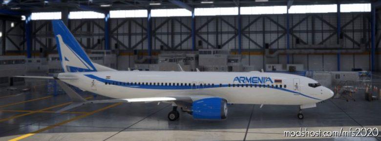 Armenia 737 MAX 89 for Microsoft Flight Simulator 2020