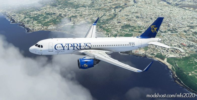 "Cyprus Airways ""OLD Colours – Evelthon"" for Microsoft Flight Simulator 2020"