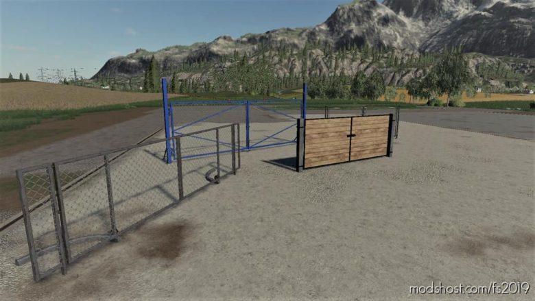 Gate Pack for Farming Simulator 19