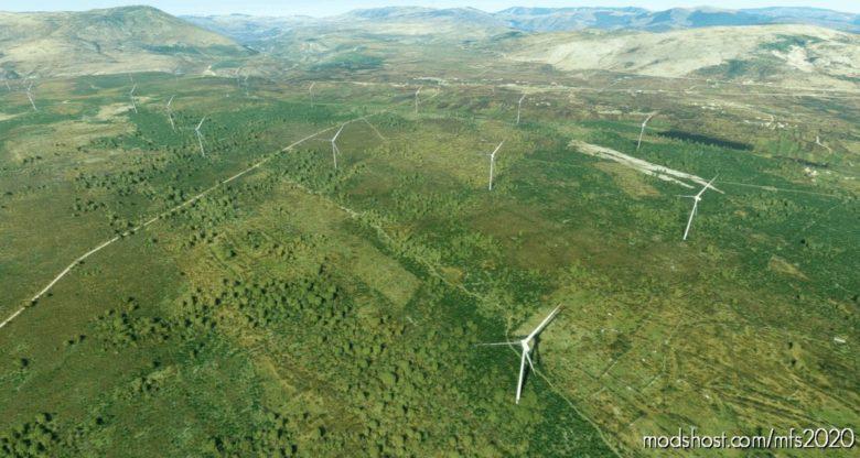 "Wind Park ""KRš Pađene"" – Croatia for Microsoft Flight Simulator 2020"