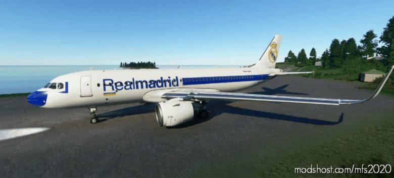 Airbus A320Neo – Real Madrid (4K) for Microsoft Flight Simulator 2020