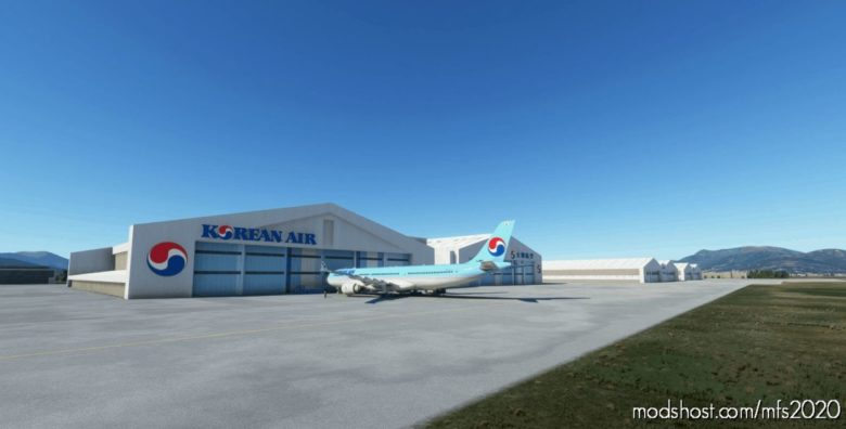 Rkpk Gimhae International Airport V1.4.0 for Microsoft Flight Simulator 2020
