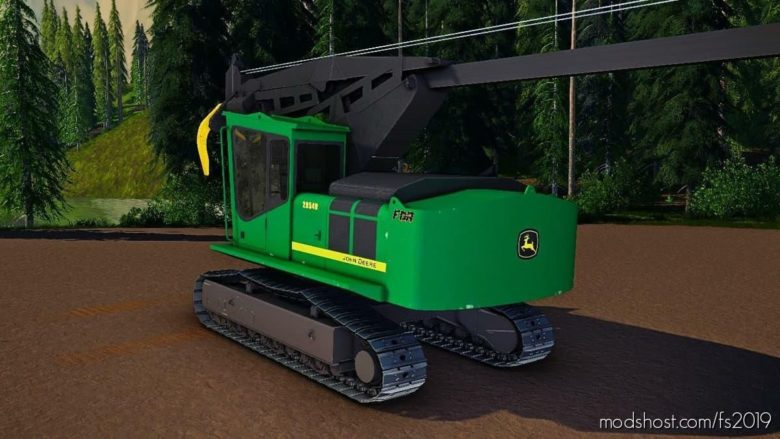John Deere 2954 Delimber for Farming Simulator 19