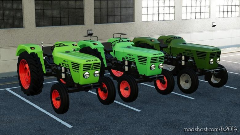 Deutz D'06 Series for Farming Simulator 19