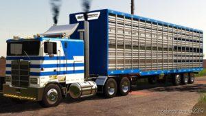 TLX 48FT Livestock Trailer for Farming Simulator 19