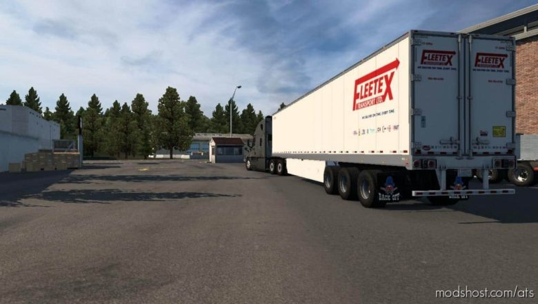 Fleetex For 53 SCS BOX [1.40] for American Truck Simulator