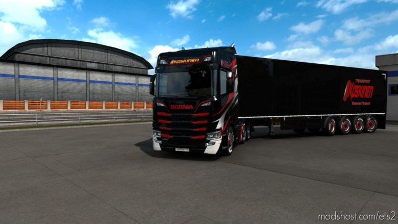 Combo Skin Koskinen for Euro Truck Simulator 2