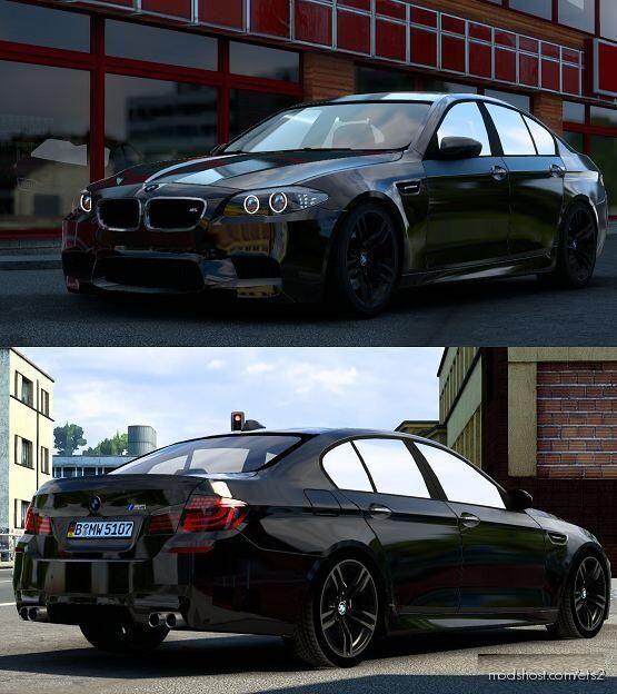 BMW M5 F10 V6.0 [1.40] for Euro Truck Simulator 2