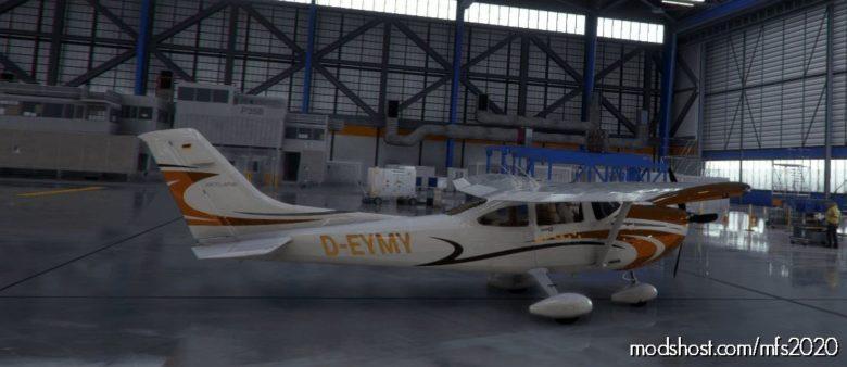 Cessna 182 D-Eymy for Microsoft Flight Simulator 2020