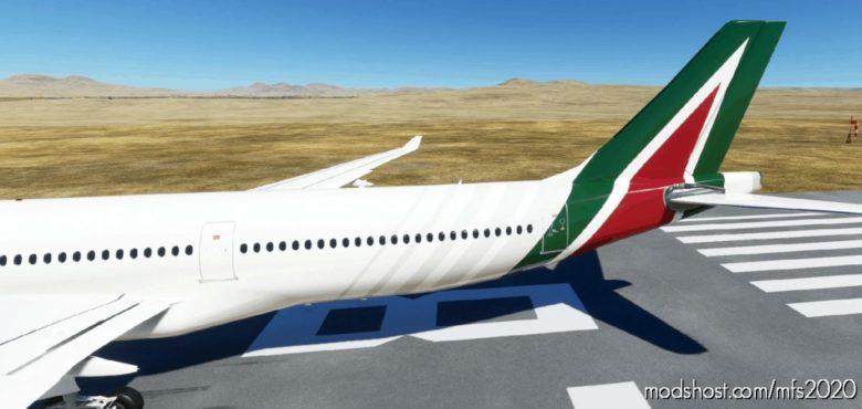PMP Airbus A330-300 – Alitalia V1.2 for Microsoft Flight Simulator 2020