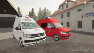 VW T6 RTW FF for Farming Simulator 19