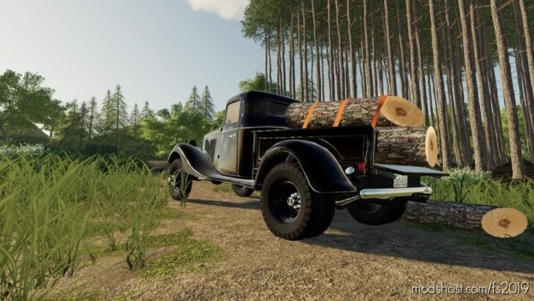 1935 Ford Truck Dually for Farming Simulator 19