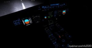 A320NX FBW – Black Cockpit And Blue Lighting for Microsoft Flight Simulator 2020