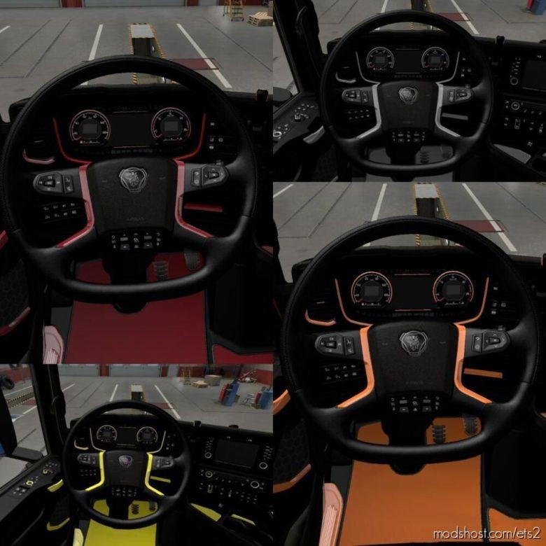 Scania S Interior [1.39 – 1.40] for Euro Truck Simulator 2
