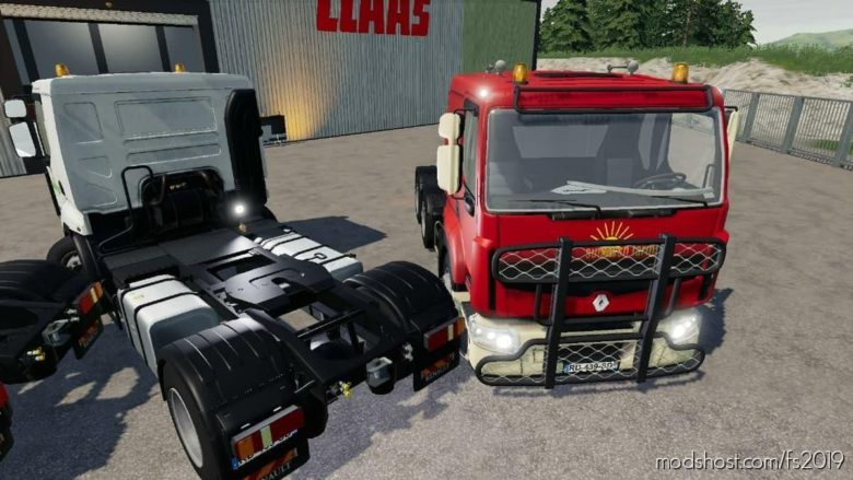 Renault Pack 4X2 ET 4X6 V2.0 for Farming Simulator 19