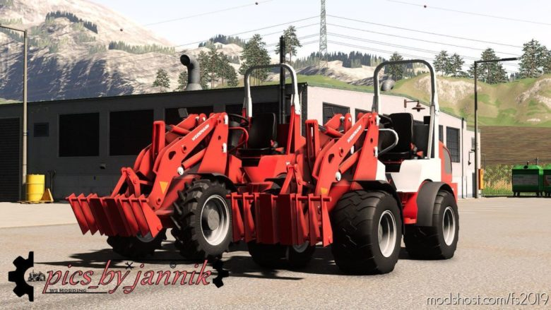 Weidemann 1770CX50 V2.1 for Farming Simulator 19