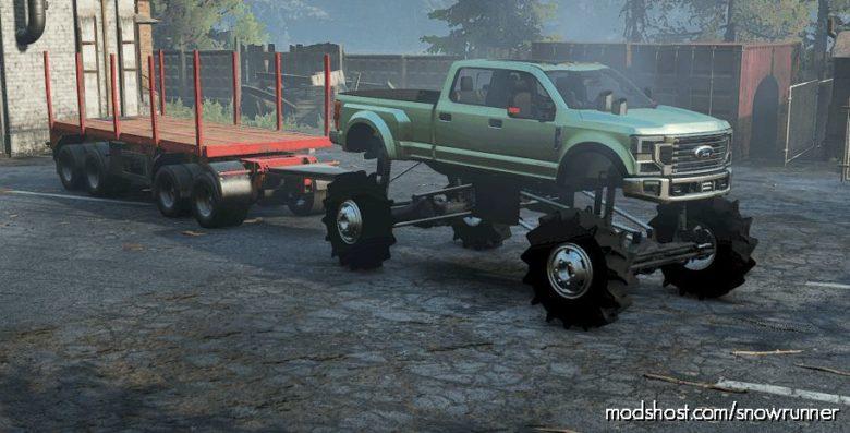 Nicks F-450 Monster Truck for SnowRunner