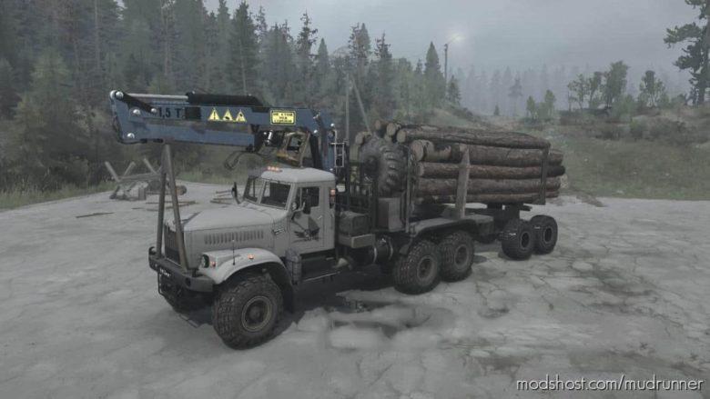 Kraz-255B Truck V15.03.21 for MudRunner