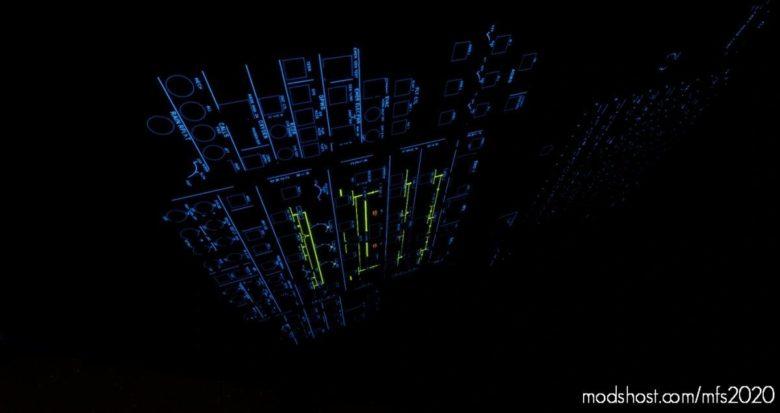 A330 (Blue Cockpit Lighting) for Microsoft Flight Simulator 2020