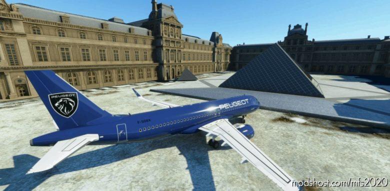 Peugeot A320Neo 8K for Microsoft Flight Simulator 2020