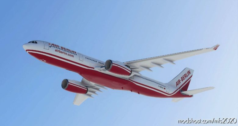 [8K] Airberlin Retro A330 for Microsoft Flight Simulator 2020